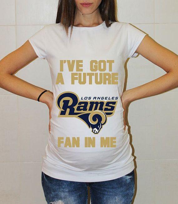cdcf4259053 Los Angeles Rams Baby Los Angeles Rams Shirt Women by FreshBreak ...