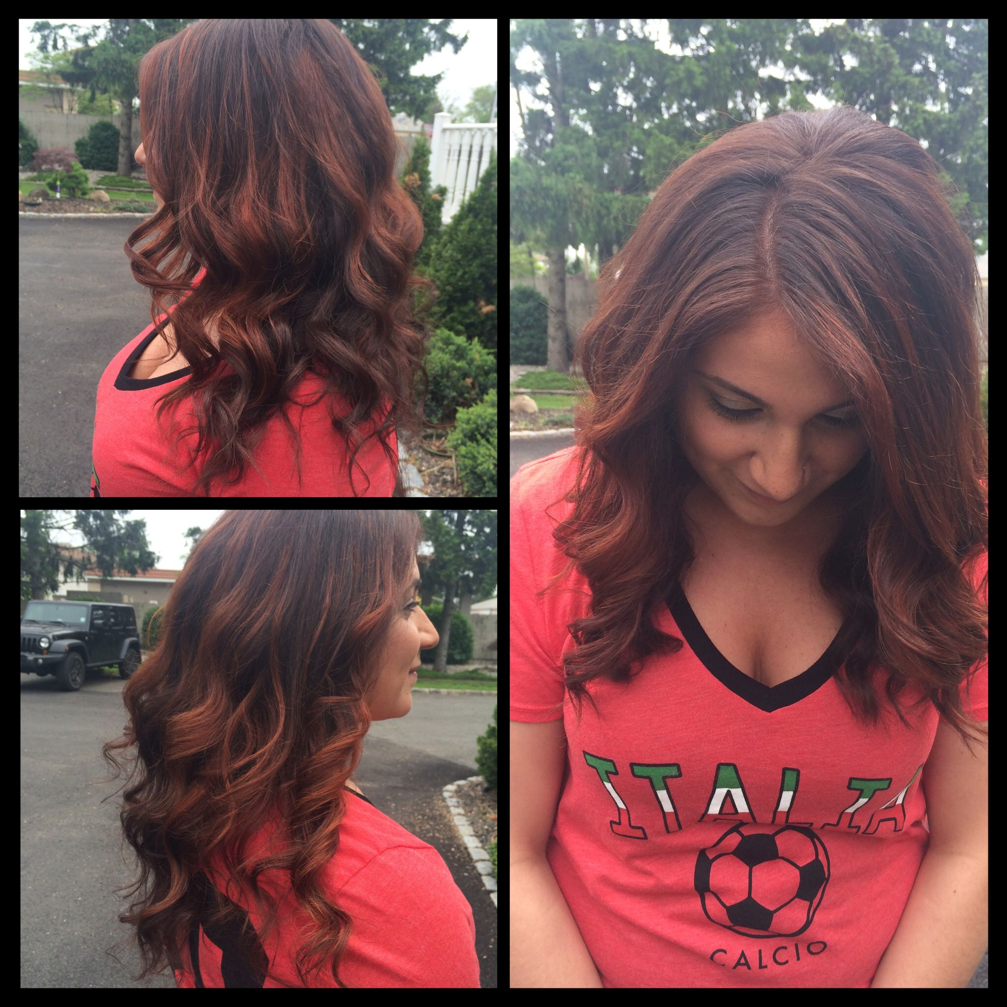 Veronica S Old But New Hair Done By Me Balayage Highlights With 40 Vol Till Hair Came Up To A