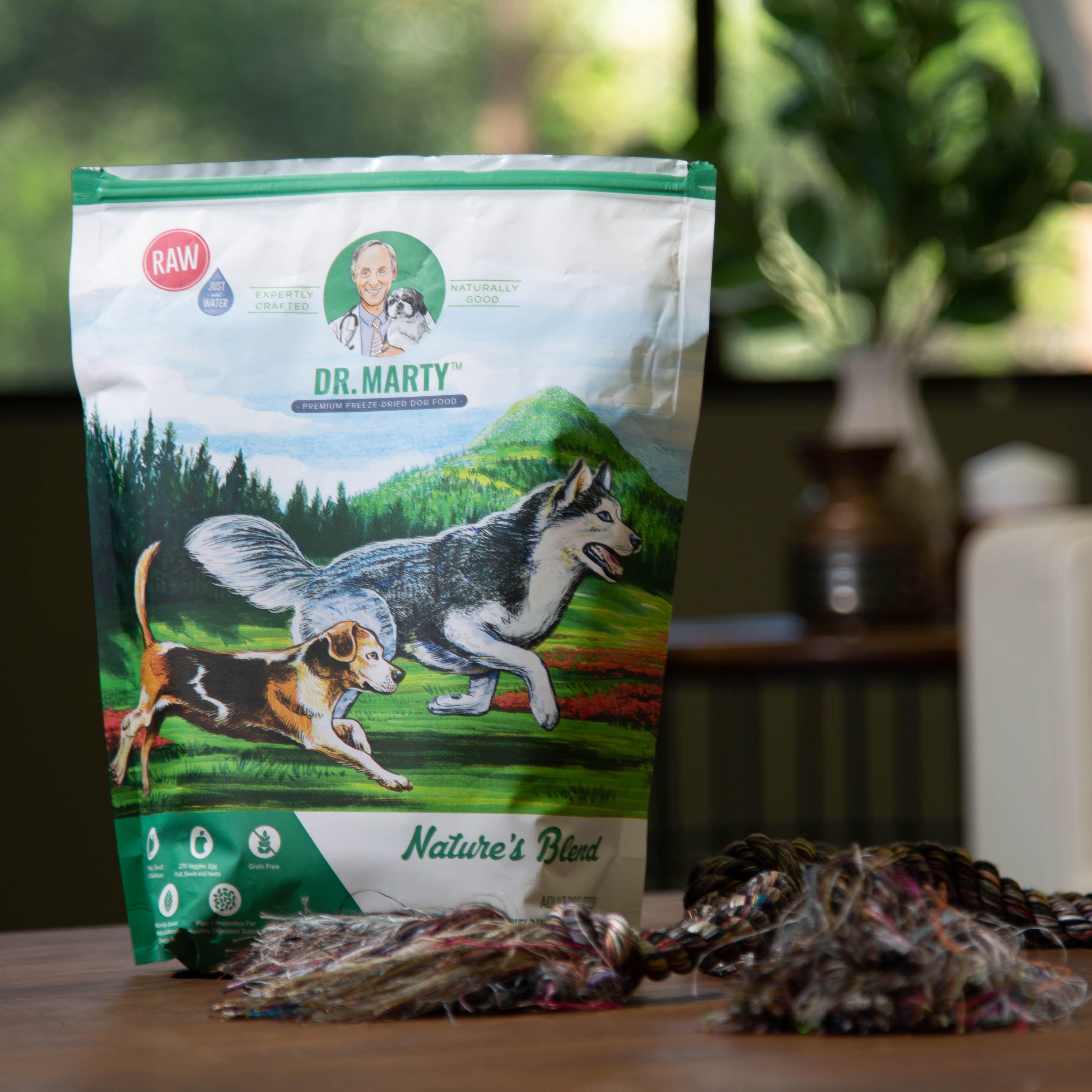 Natures blend dog food by dr marty pets dog food