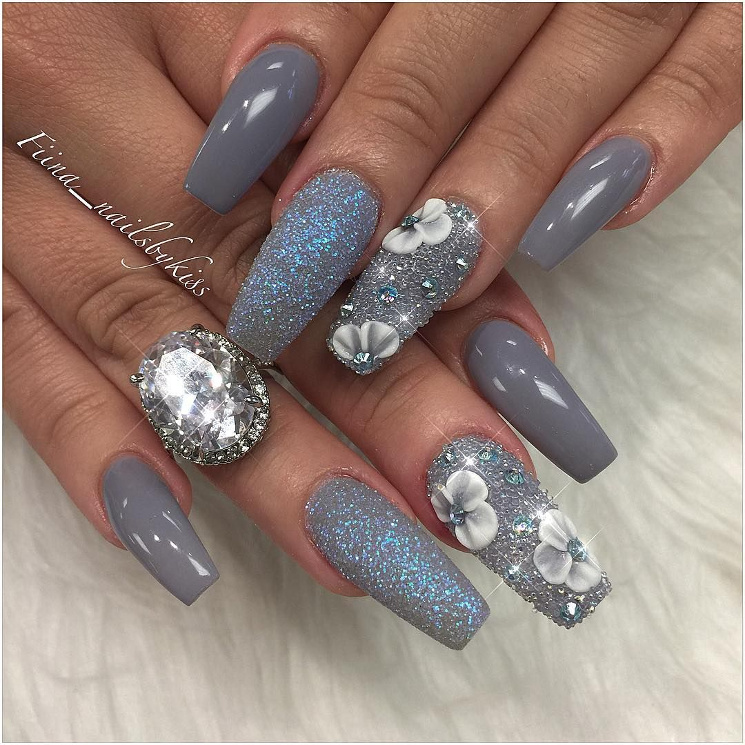 aalejna | Them Nails Though... | Pinterest | Fancy nails designs ...