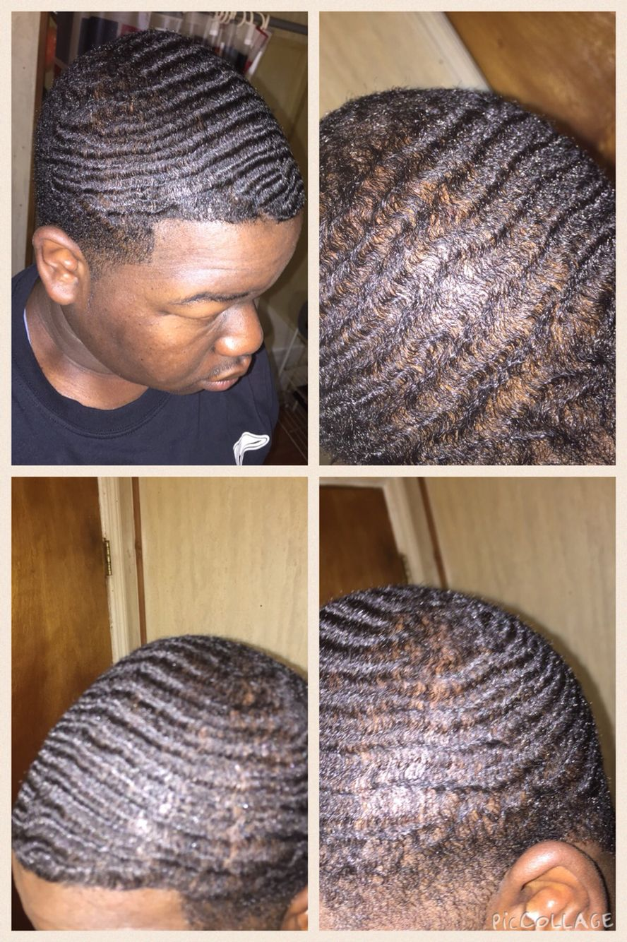 f8f2b8c24 360 Waves after taking my durag off...