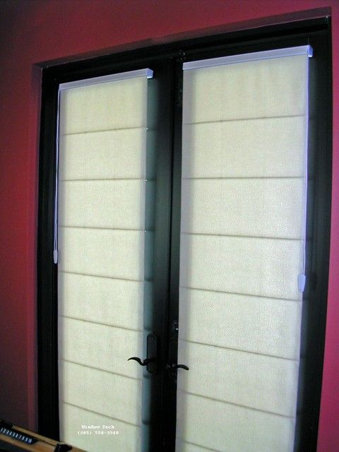 ... French Door french door shades : french door roman shades | Roselawnlutheran ... : door shades - Pezcame.Com