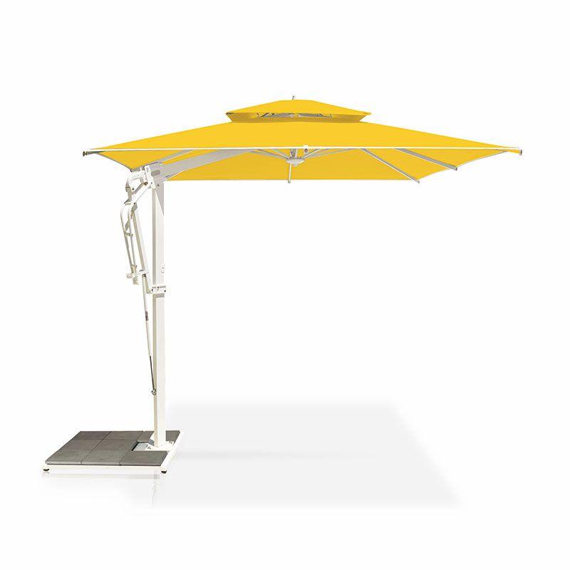 Parasol de jardin Pagoda 300x300 cm anthracite ou blanc ...