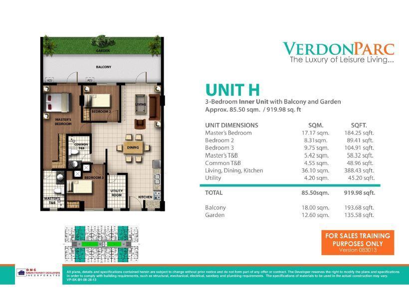 VERDON PARC - Condominiums Davao - Condominiums Davao Sacred Space - construction change order form