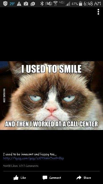 True story... grumpy cat