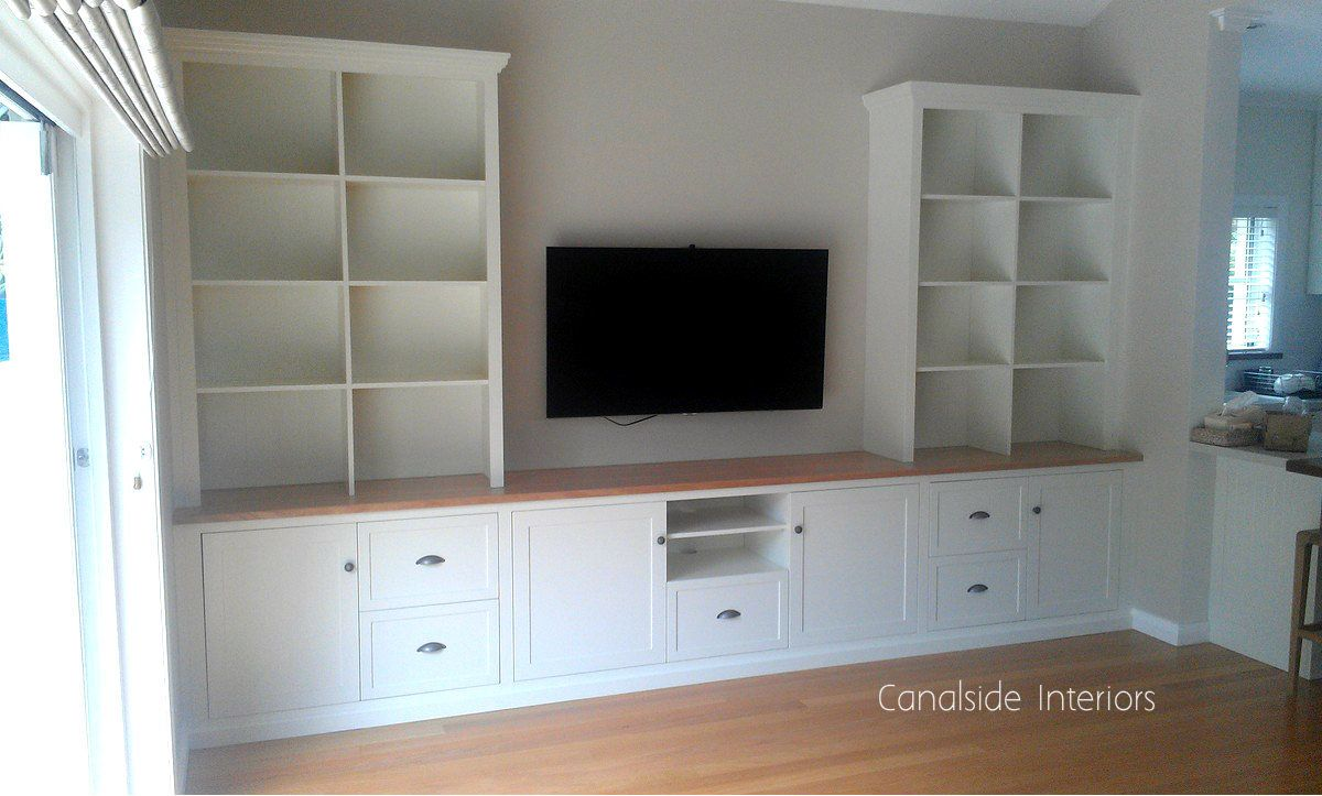 Custom Wall Tv Entertainment Units Dover Heights Premises  # Muebles Fiasini