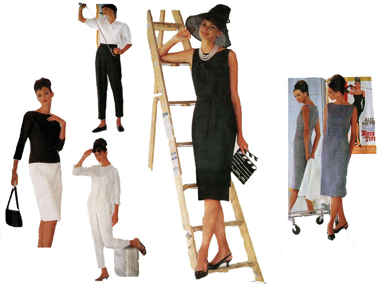 AUDREY HEPBURN VOGUE Wardrobe Pattern Breakfast at Tiffany\'s Wrap ...