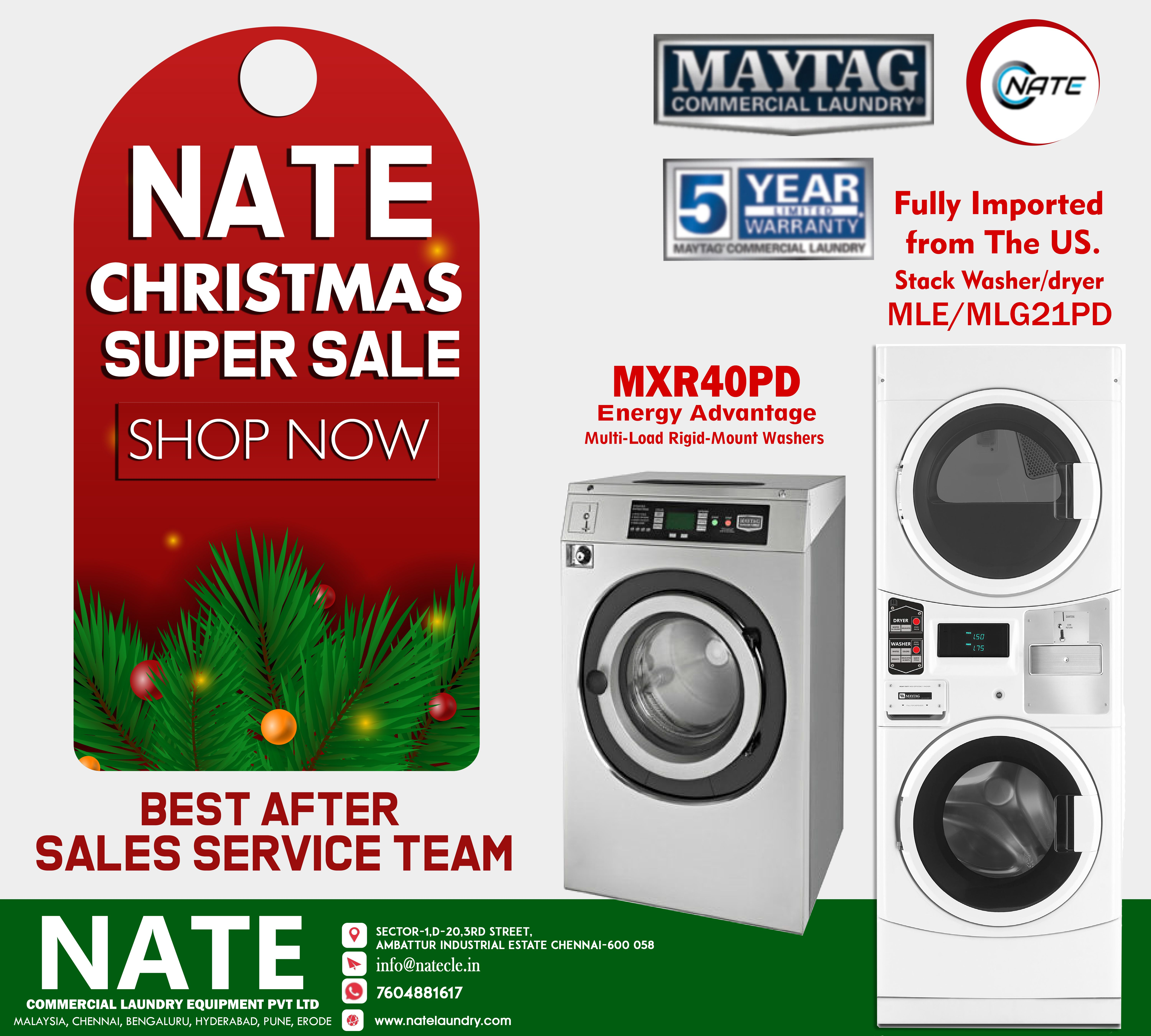 Shop Maytag Machines On This Special Occasion Visit Www