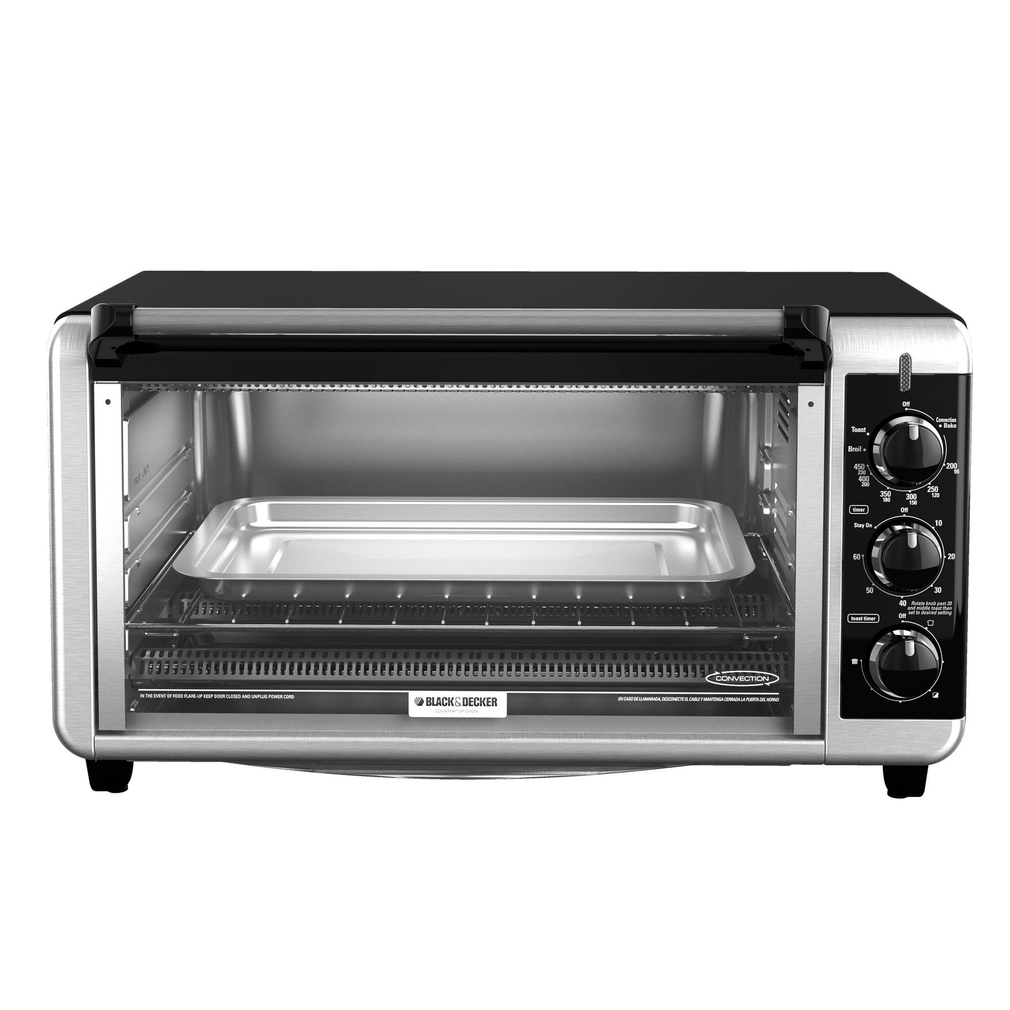 Black And Decker To3250xsb 8 Slice Extra Wide Toaster Oven