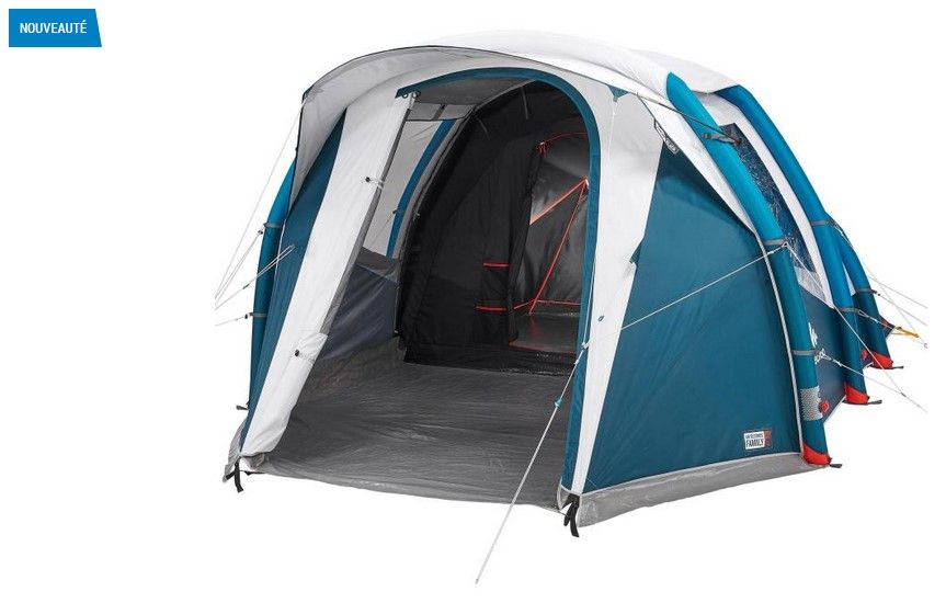 Tente De Camping Gonflable Air Seconds 4 1 Fresh Black Quechua Pas Cher Tente Decathlon Iziva Com Tente Decathlon Camping Tente Decathlon