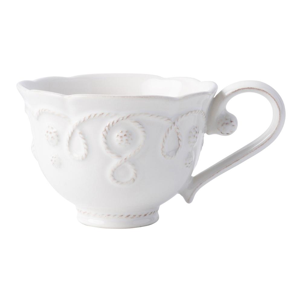 Jardins du Monde Whitewash Tea Cup