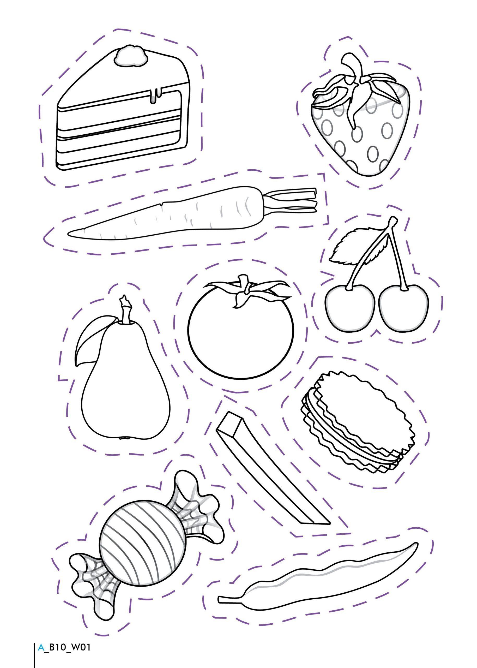 Food Coloring Sheets For Preschoolers