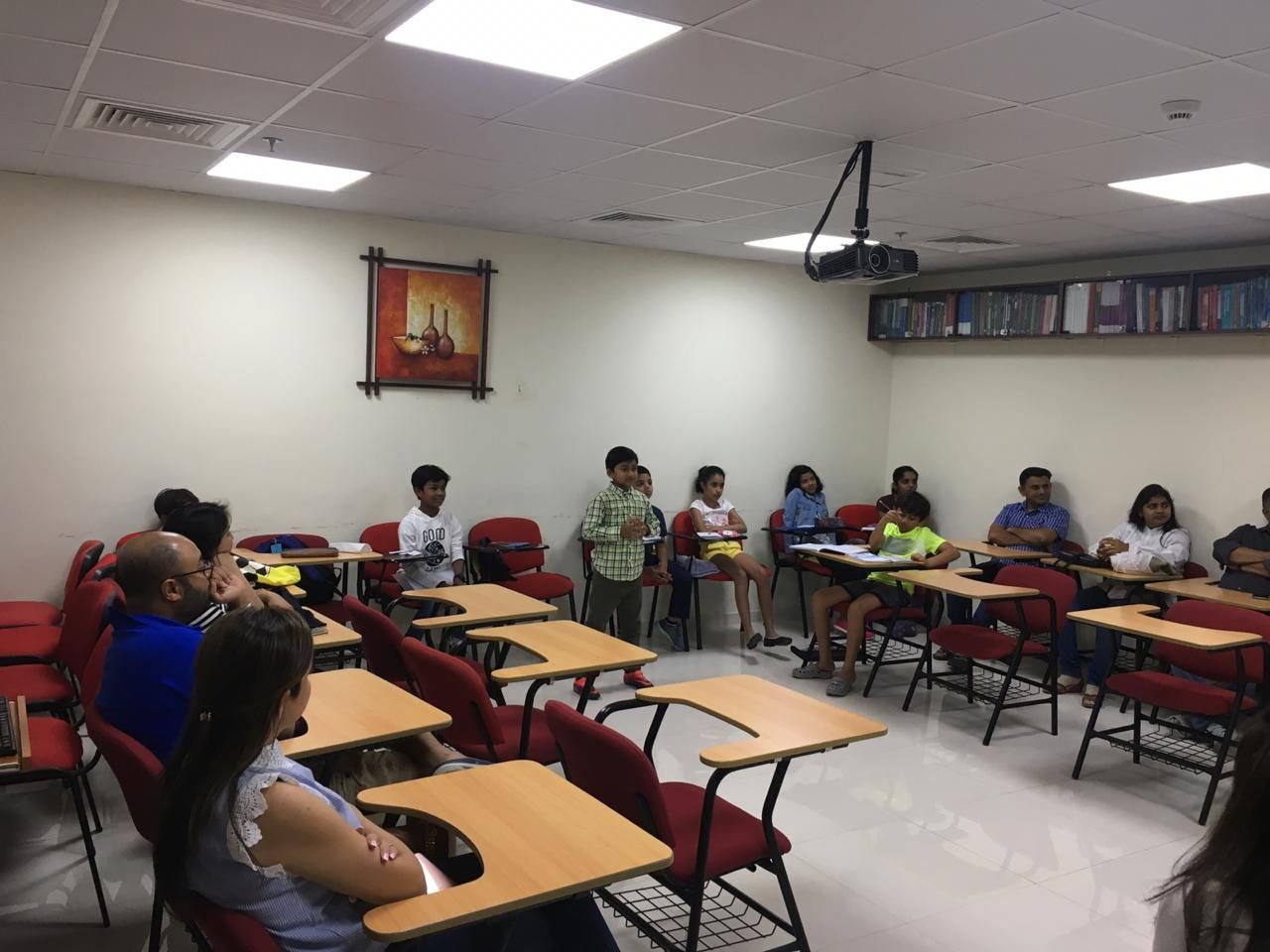 Students speech and Debate conducted in Zabeel