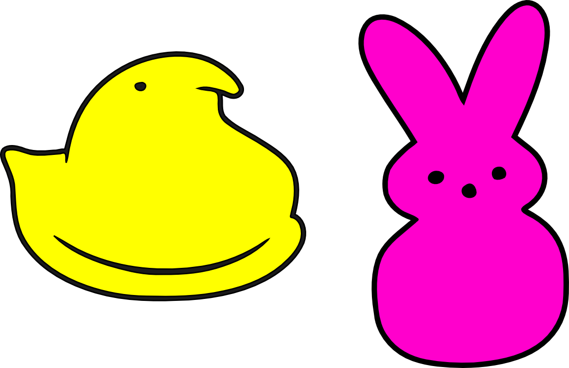 image result for peeps chick template crafts and cards 2 rh pinterest com peeps clipart peeps clipart free