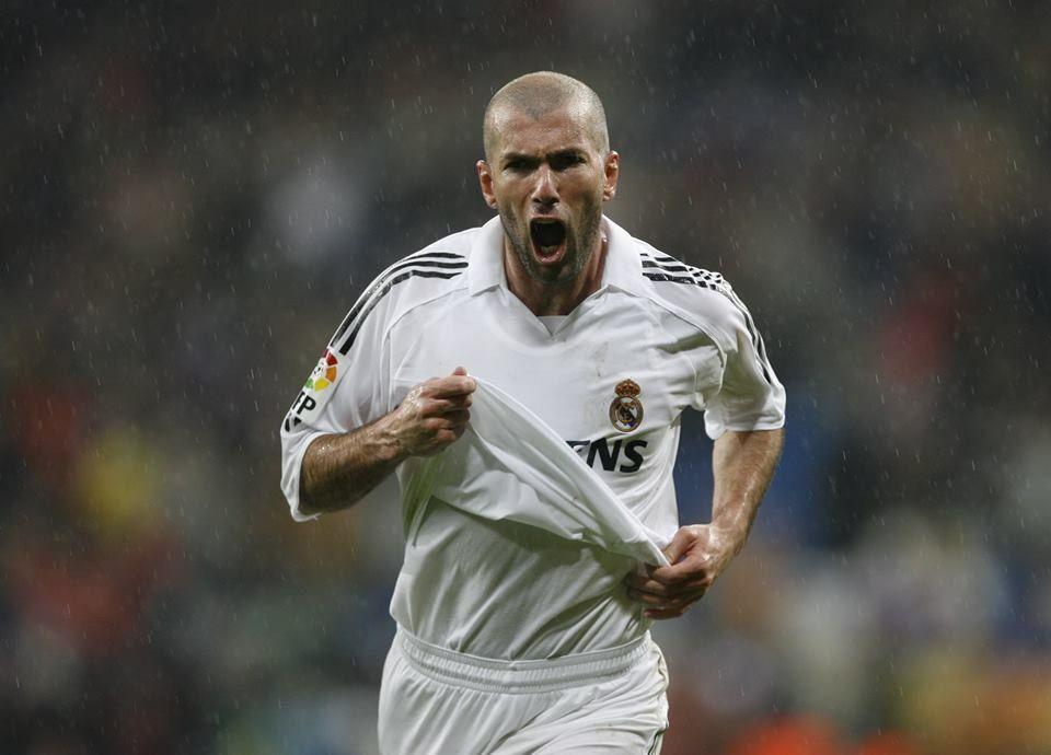 Zidane! El mejor de la historia! | Leyendas blancas ...