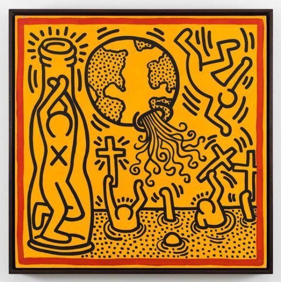 Keith Haring, Sin Título, 1989