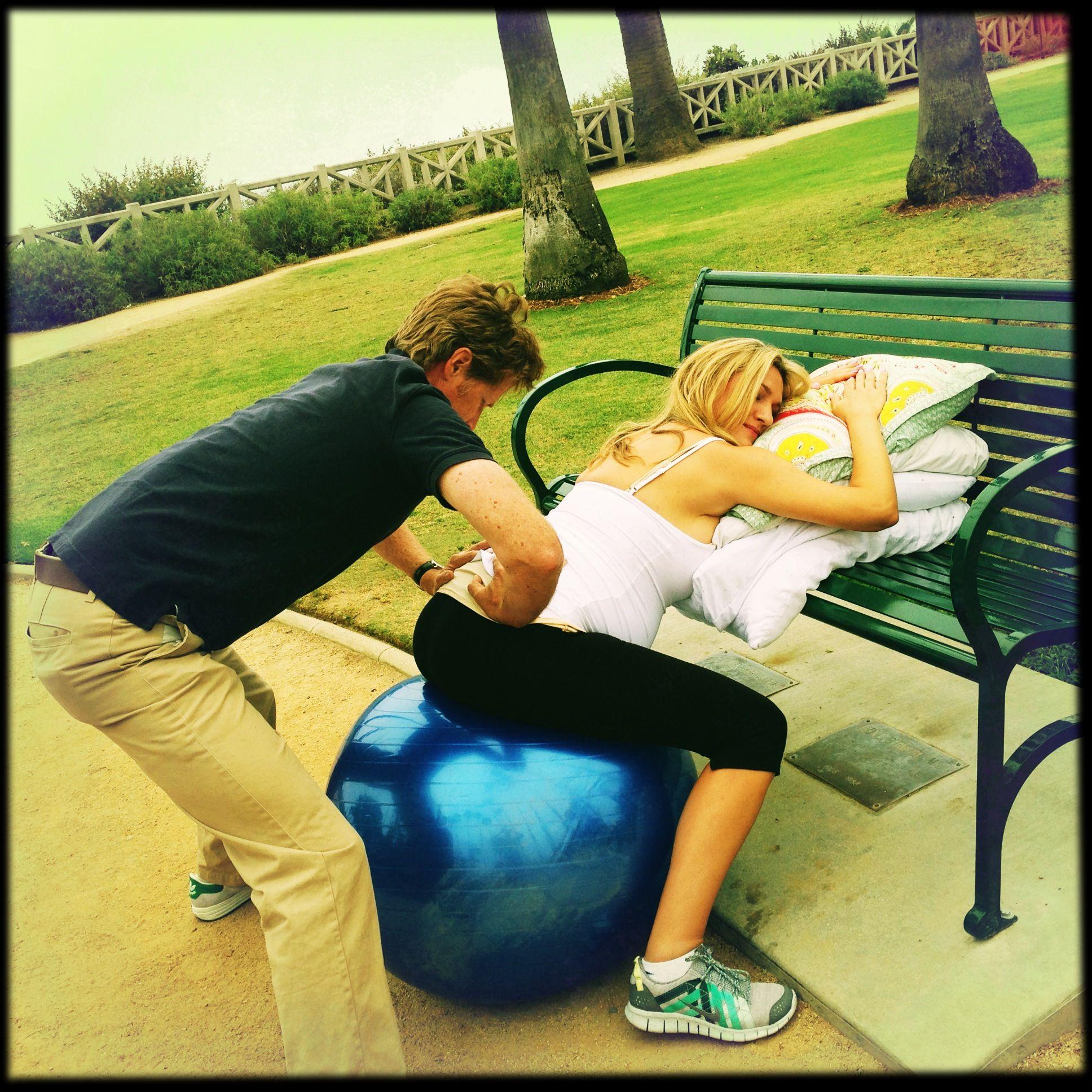 Balance Ball Exercises For Pregnancy