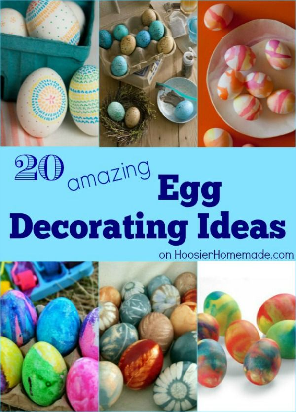 These 20 Amazing Egg Decorating Ideas Will Blow You Away Gather The