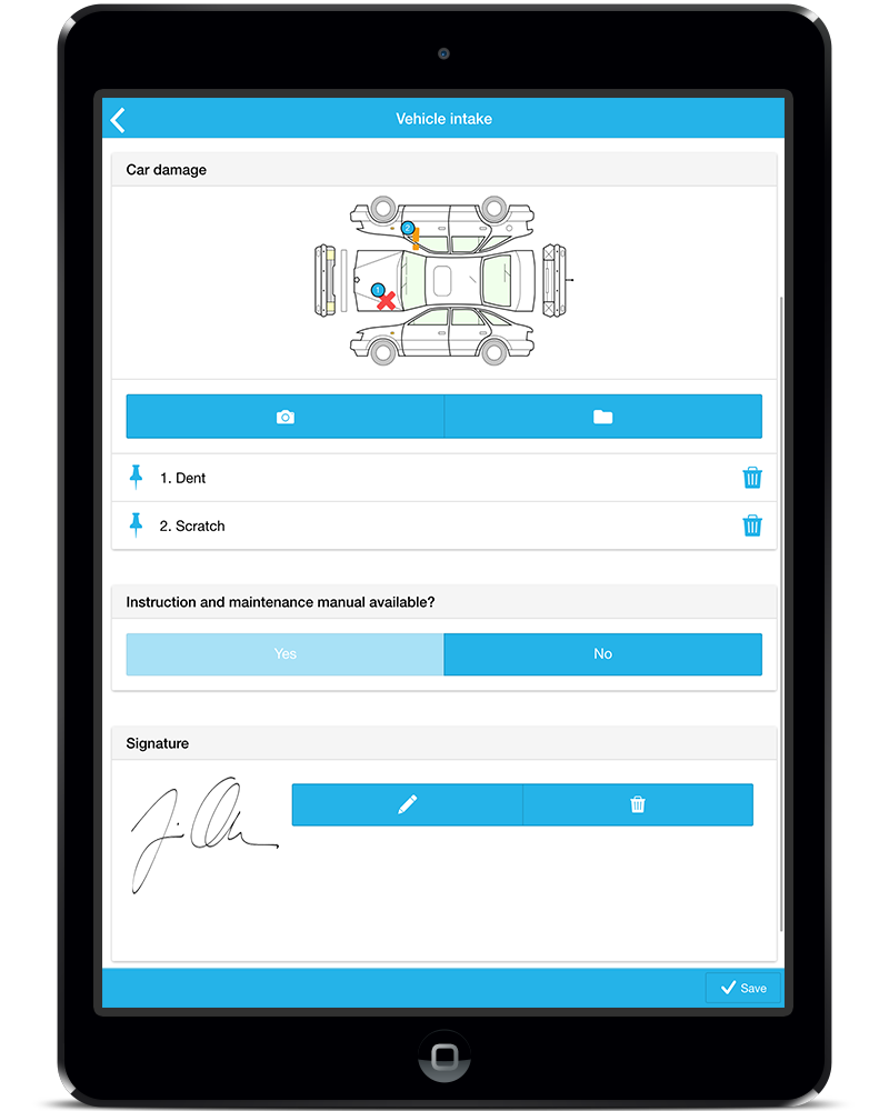 Build your own digital intake form quickly and easy with MoreApp ...