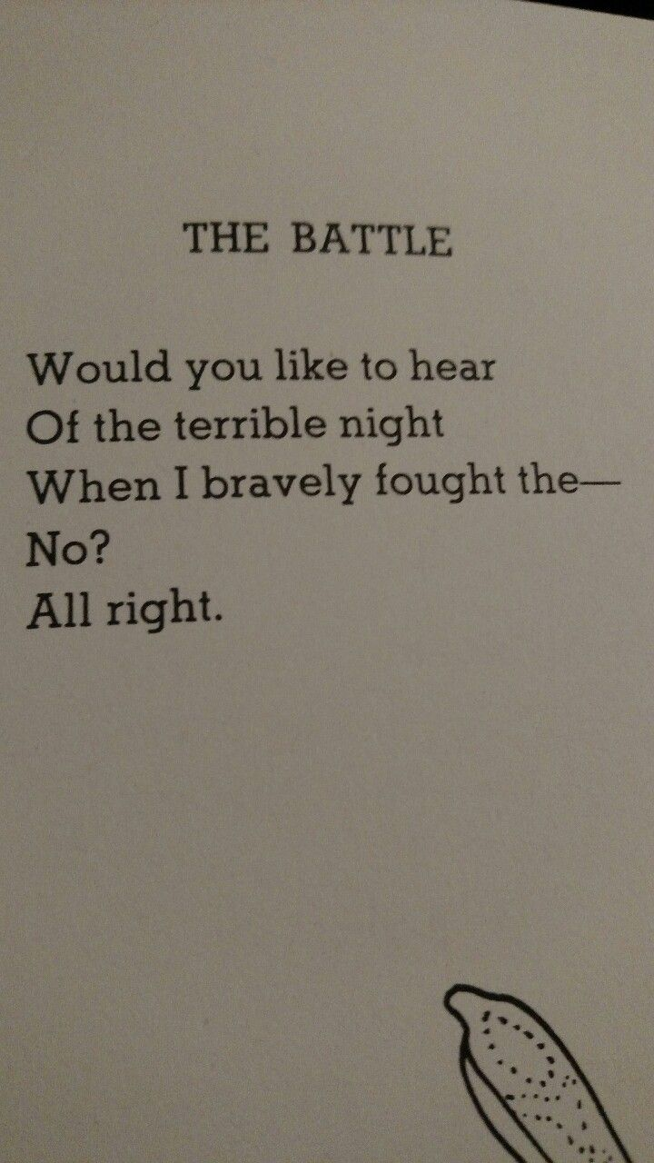 nikkota: My conversations - All Things Shel Silverstein   poems ...