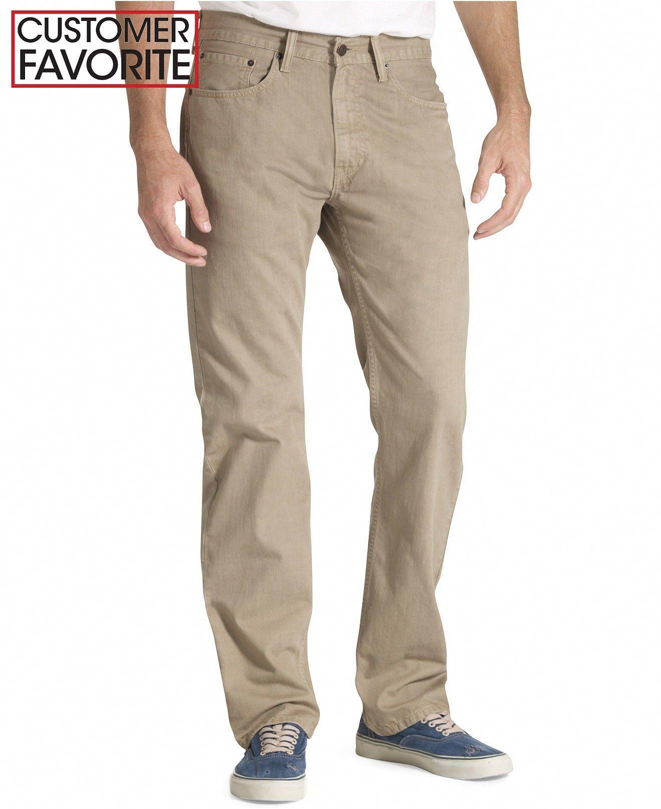998313b227 Khaki Pants Outfit · Levi's 505 Regular-Fit Jeans - Jeans - Men - Macy's  #mensjeanslevis Jeans Fit