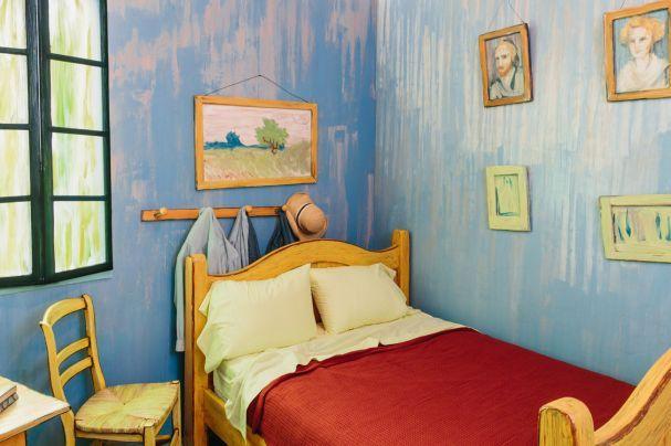 Wie gemalt Chicago, Kunst und Transporter - schlafzimmer in arles