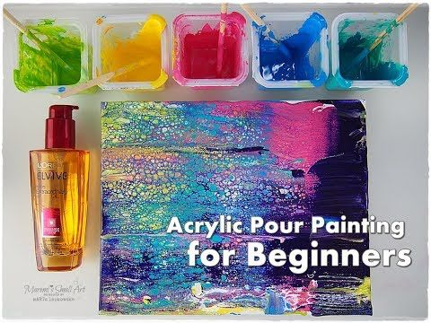 how to make wiethered effect with acrylic paint