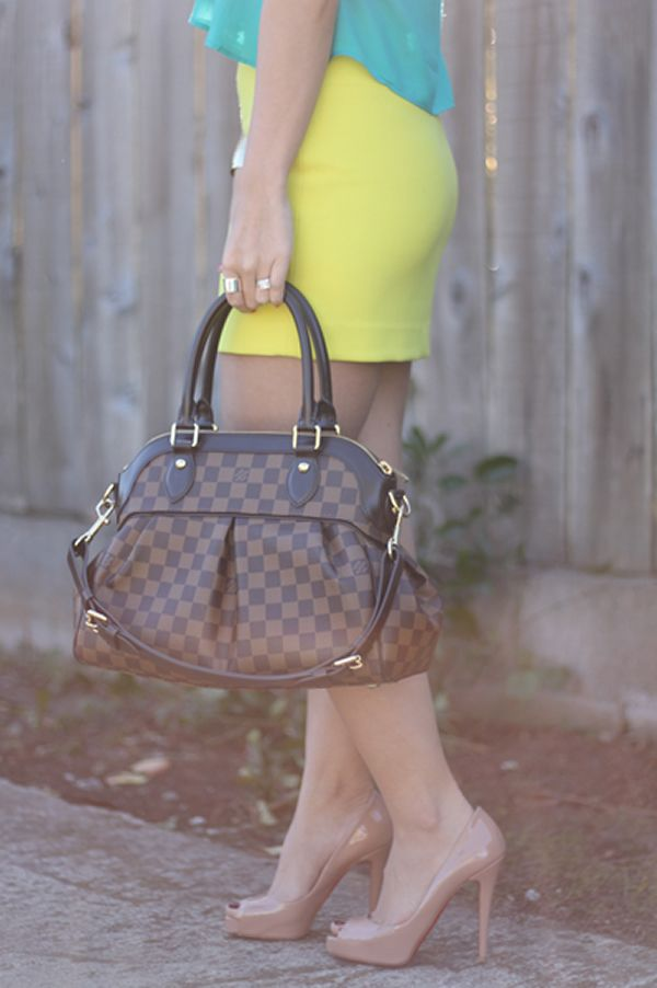 8726842dc443 Louis Vuitton Trevi Love this handbag! Get so many compliments when I tote  this around!