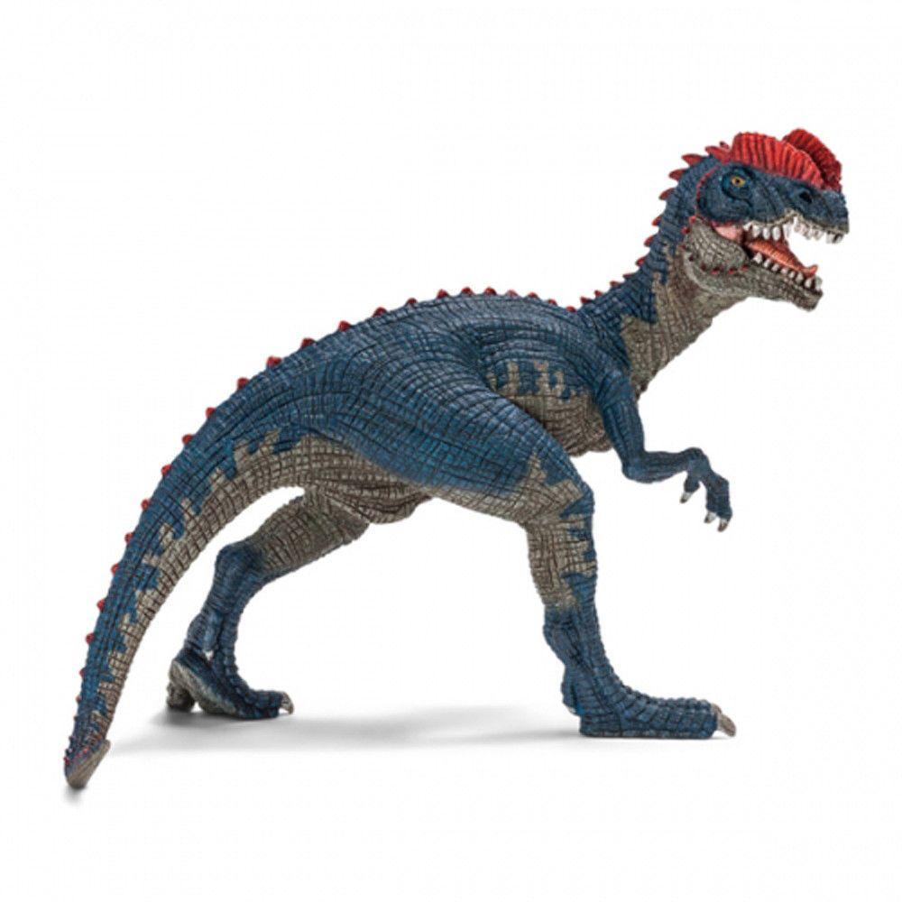 Figure High Quality Detailed Plastic Papo Dilophosaurus Dinosaur Figurine