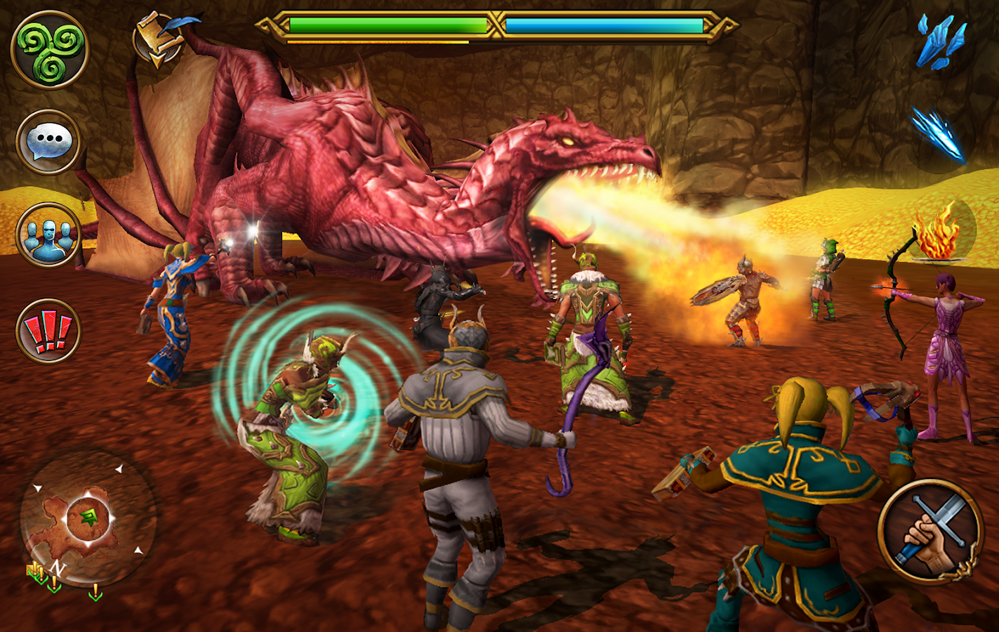 Best MMO Android Games You Can Play For Free Celtic