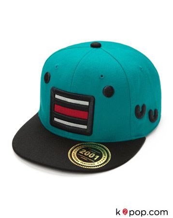 K2POP - STAR IT ITEM CHARACTER NEWERA CAP ( TURQUOISE )