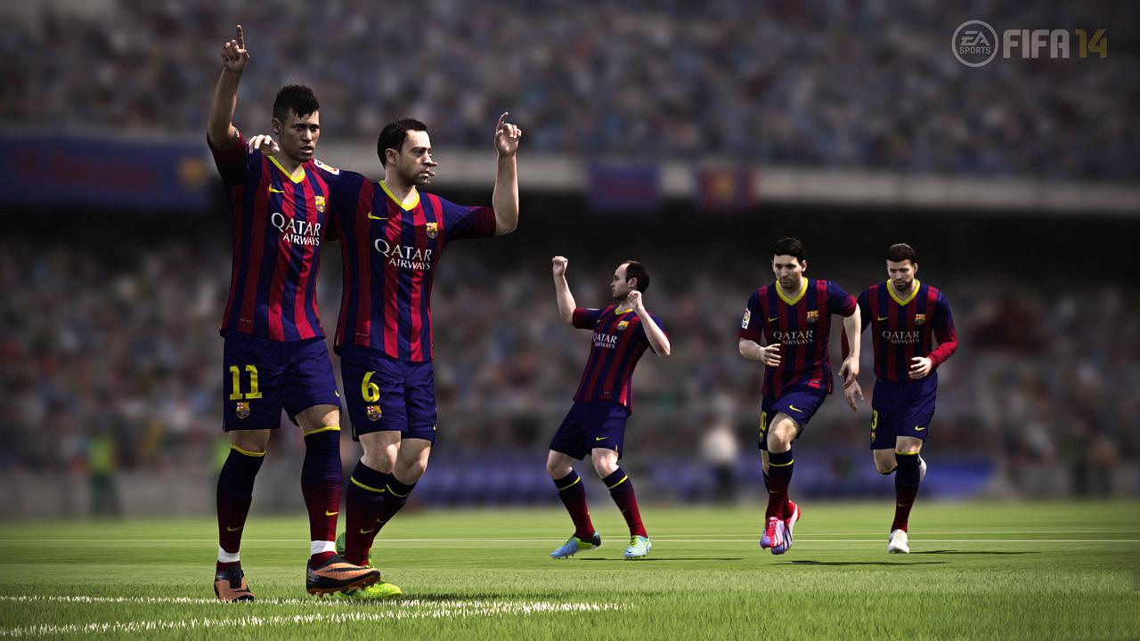 Acuerdo entre Electronic Arts y el FC Barcelona 31/7/2013