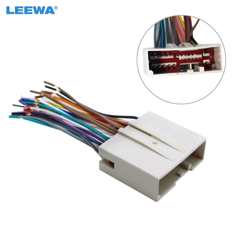 car radio cd player wiring harness audio stereo wire adapter for rh pinterest com ford f250 stereo wiring harness adapter ford f150 radio wiring adapter