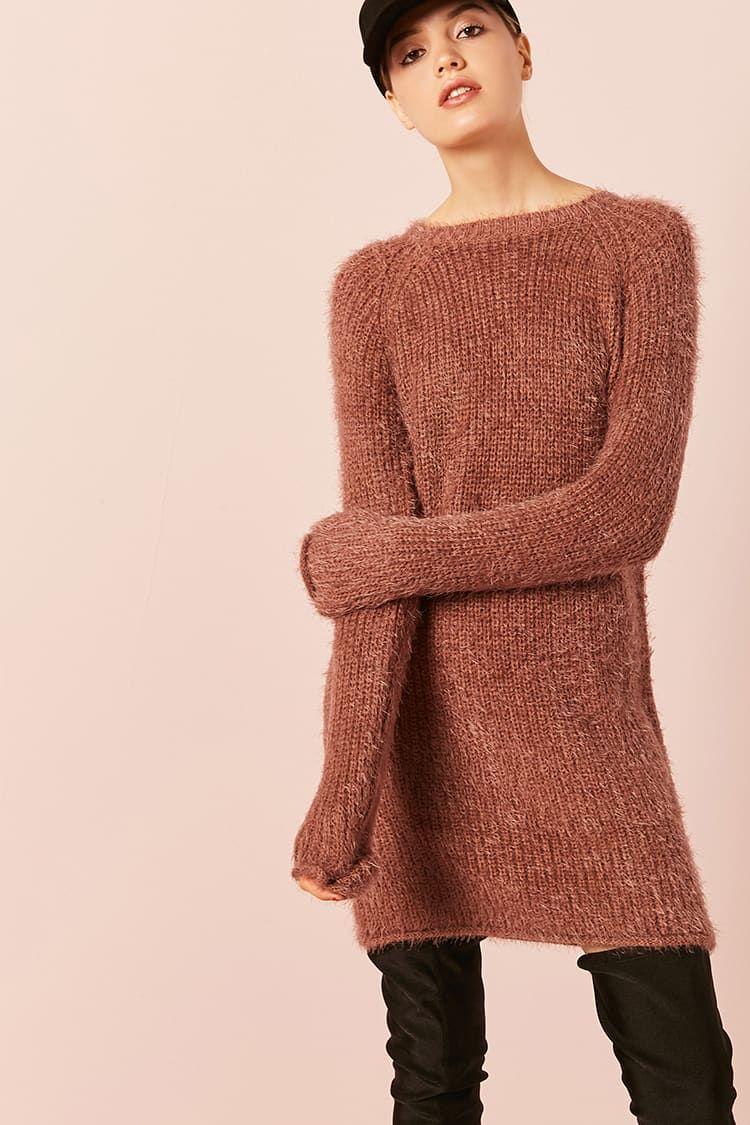 e84e211283f Product Name Fuzzy Knit Dress
