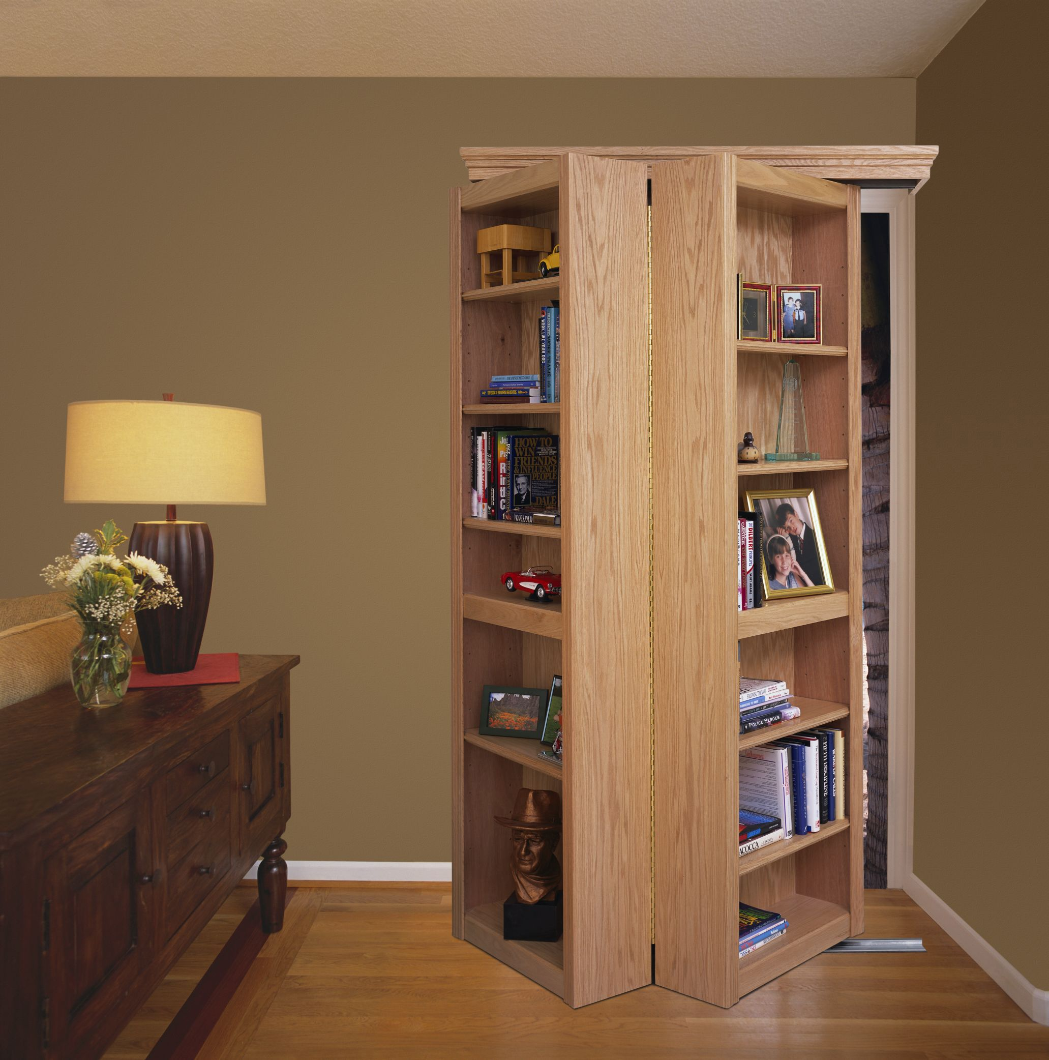 Pin By Michael L On Living Off The Grid Bookcase Door