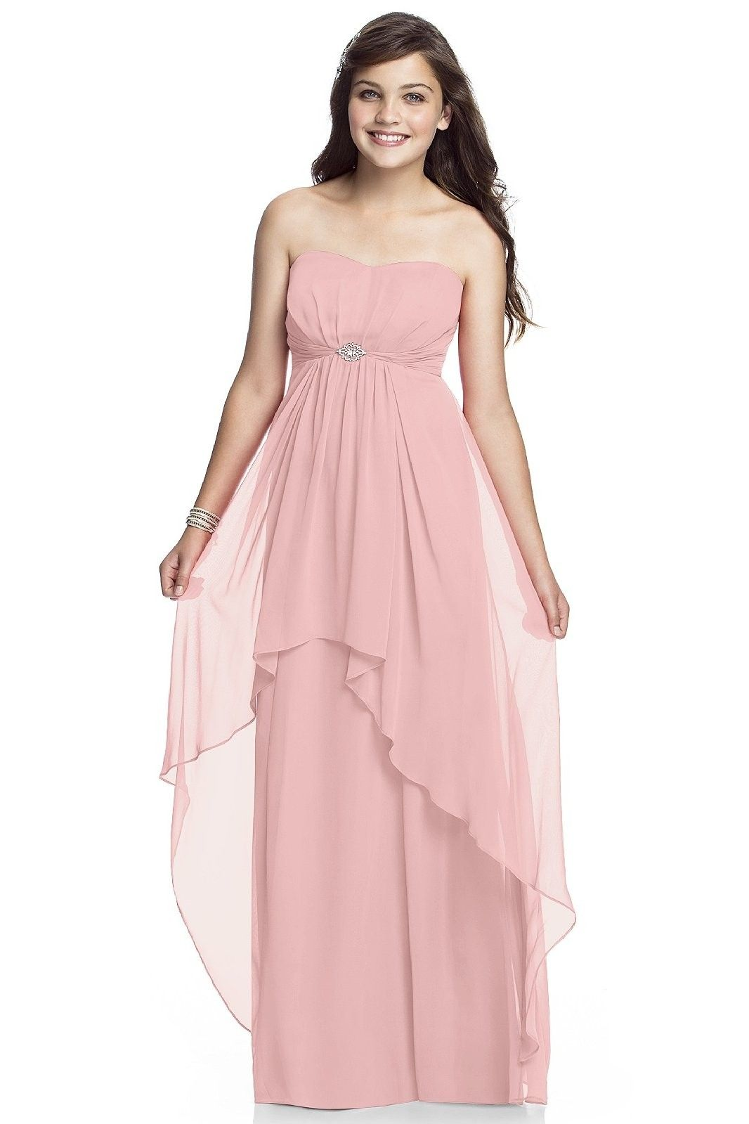 Dessy bridesmaids dress style jr juniors perfect bridal