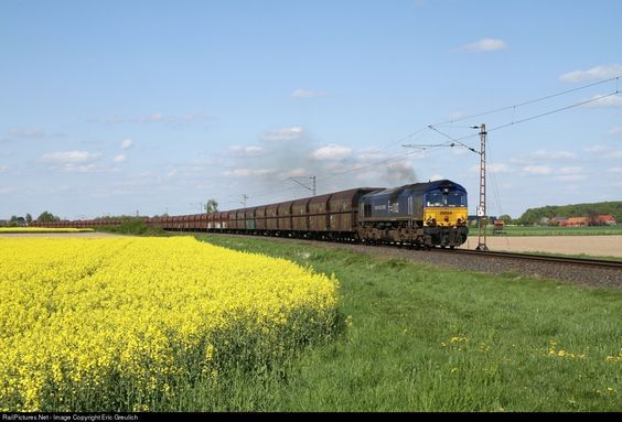 RailPictures.Net Photo: 29004 Heavy Haul Power Class66 at Frille, Germany by…