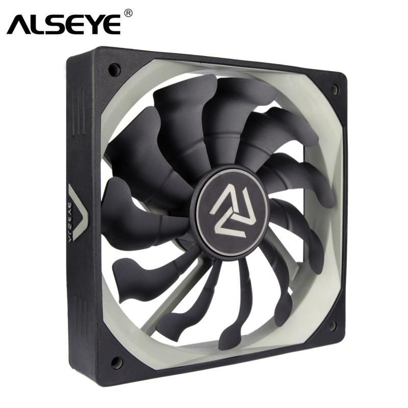 Alseye S 120 Pc Fan 120mm High Air Flow Cooler 12v 3pin Cooling