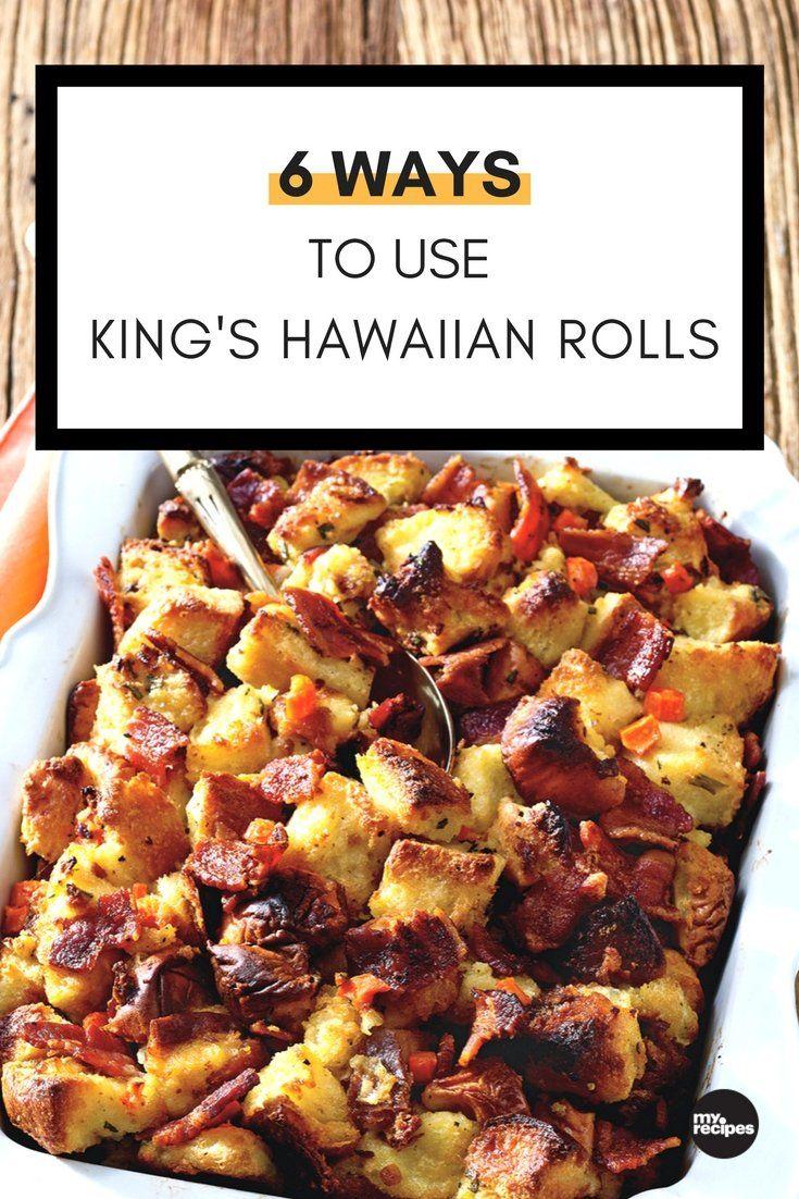 6 Smart Ways to Use King's Hawaiian Sweet Rolls #breakfastslidershawaiianrolls