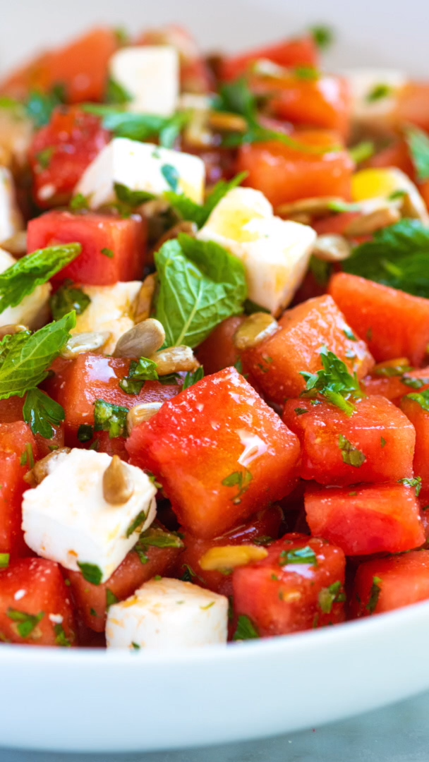 Photo of Our Favorite Watermelon Salad