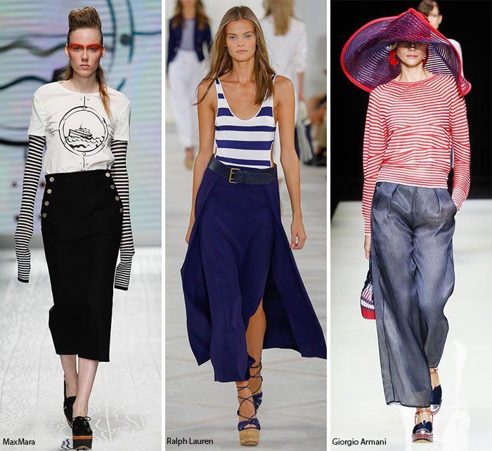 Модные тенденции морская тематика