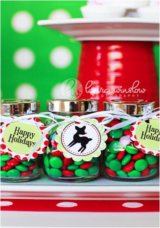 Christmas Birthday Party Ideas Part - 26: Vintage Rudolph Christmas Birthday Party Ideas  Www.spaceshipsandlaserbeams.com