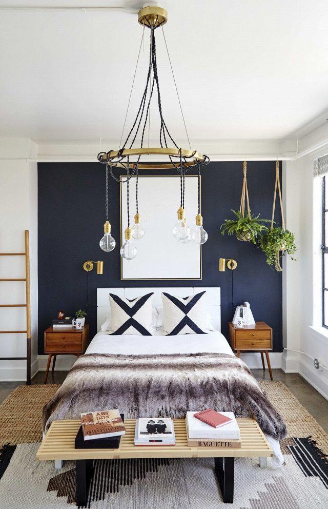 Navy Blue Bedroom Ideas Pinterest In 2020 Above Bed Decor Bed Decor Bedroom Ideas Pinterest