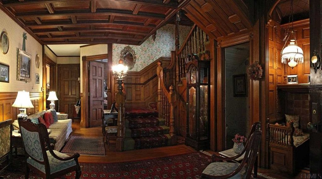 Victorian Mansion Saratoga Springs Ny Woodwork Staircases