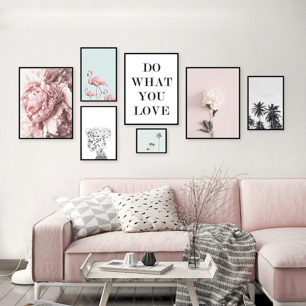 Combo rosa freedom | Combos Cuadros Decorativos | Pinterest ...