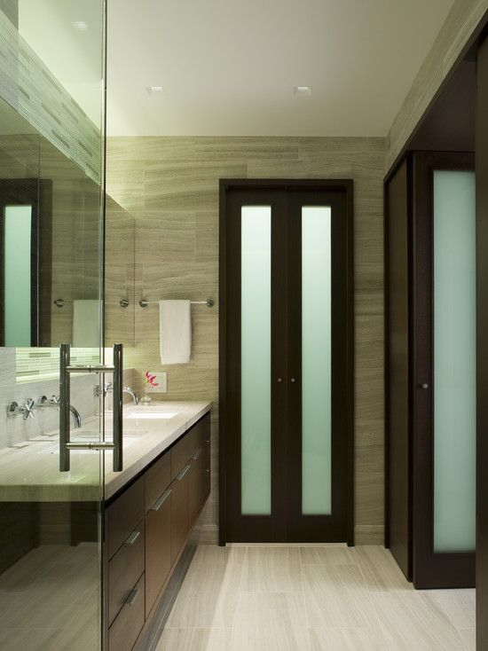 Bathroom White Bi Fold Doors Design Pictures Remodel Decor And