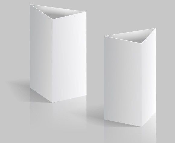 Blank Table Tent Vertical Cards Creative Business Card Templates 4 00
