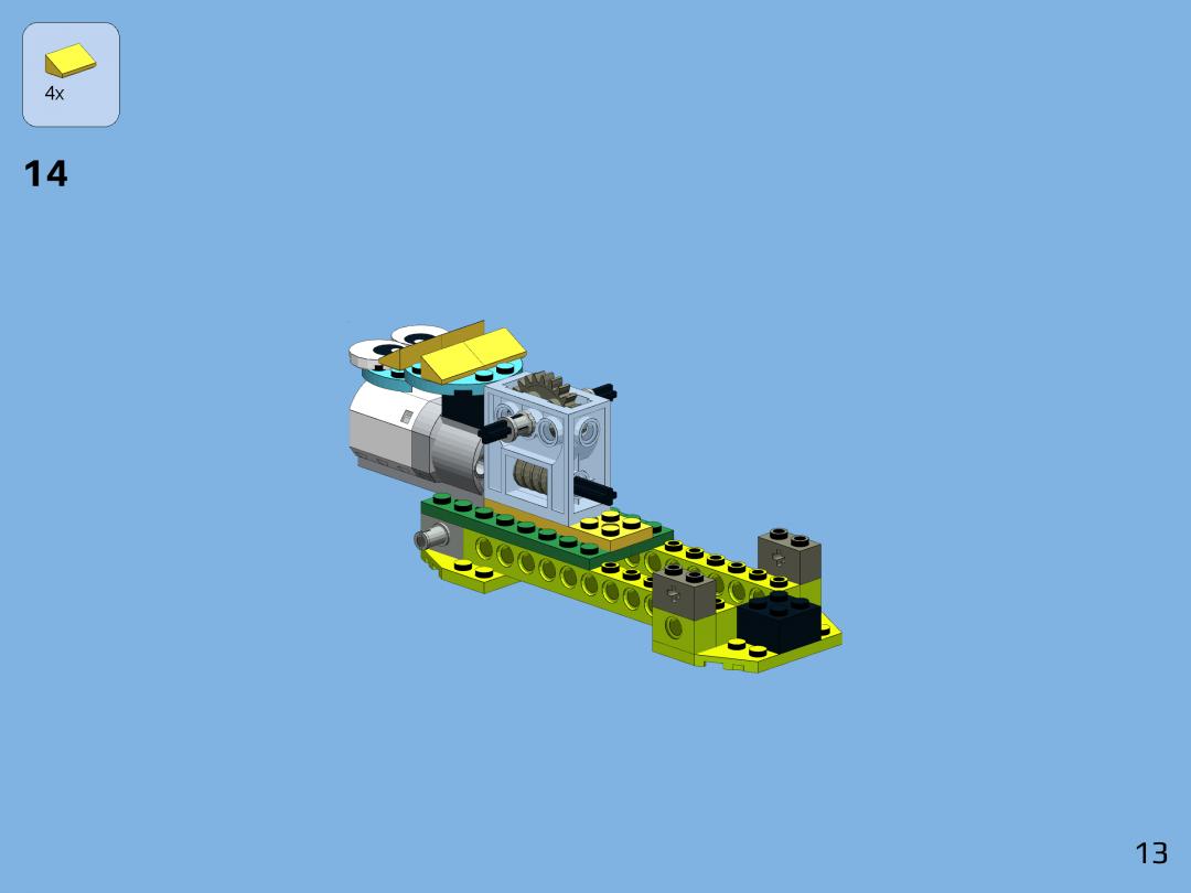 LEGO WeDO 2.0 Monkey by Yoshihito Isogawa   Robocik.eu di 2020