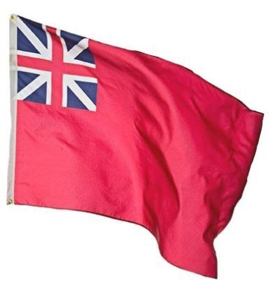 British Red Ensign Flag Made From Lightweight Polyester 3 X 5 British Red Historical Flags Red