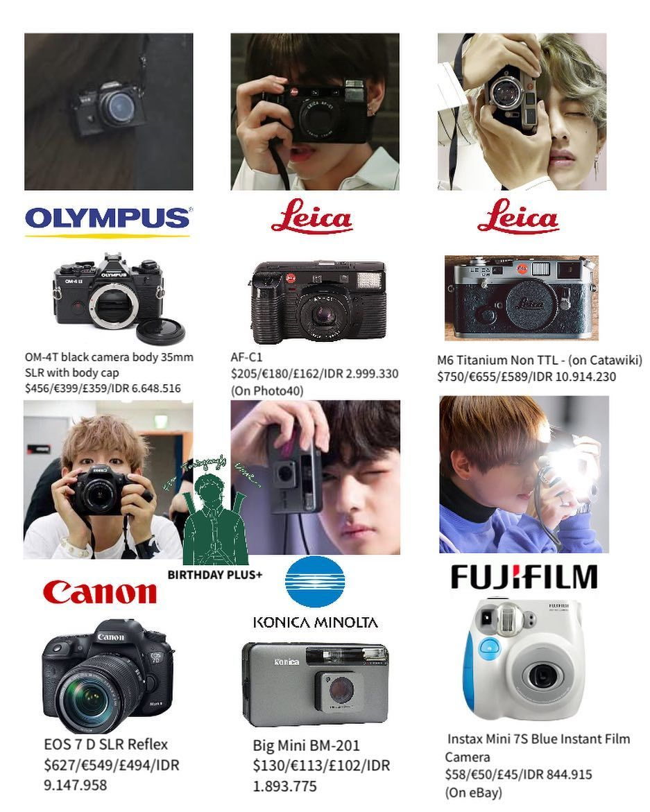 Happy Birthday Tae Camera Special Btspluspost V Camera Taehyung Gucci Bts Inspired Outfits